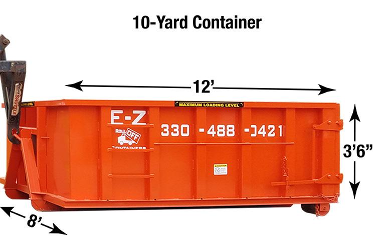 Refuse Construction Debris and Yard Debris Container Rentals